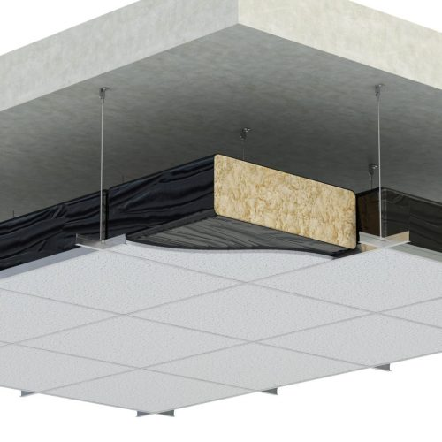 POLYTHENE ENCLOSED CEILING PAD 563