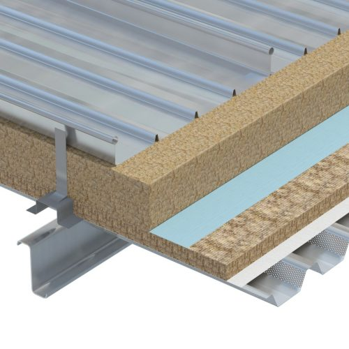 TISSUE FACED ACOUSTIC ROOF SLAB 571 and 572